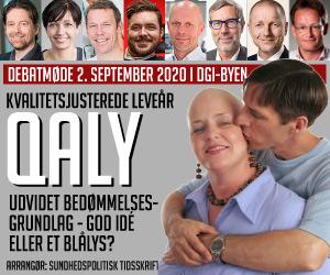 Hvordan ser det danske sundhedsvæsen ud, når QALY indføres i Medicinrådets arbejde?